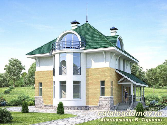 Дом с жилой мансардой с