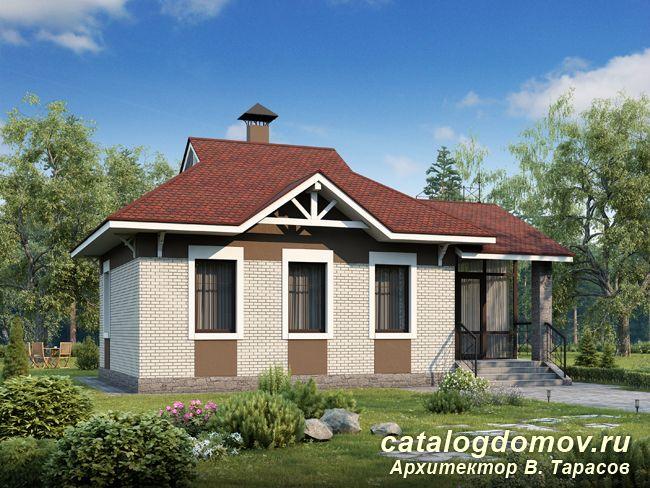 Готовый Проект Дома Оптима 103B