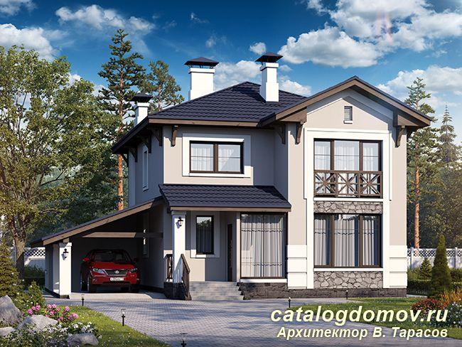 F-093-1P - Проекты домов и коттеджей